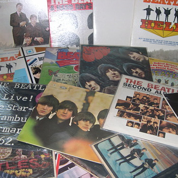 "BEATLES & RECORDS RECORDS RECORDS ""MY SMALL COLLECTION"" - Records"
