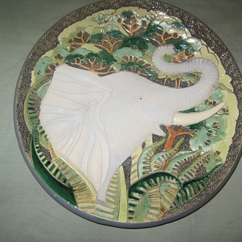 Artesania Rinconada Collector Animal Plate (1 of 7)