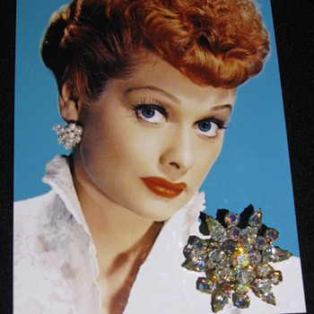 Lucille Ball  .  .  .  Personal 'Brooch'