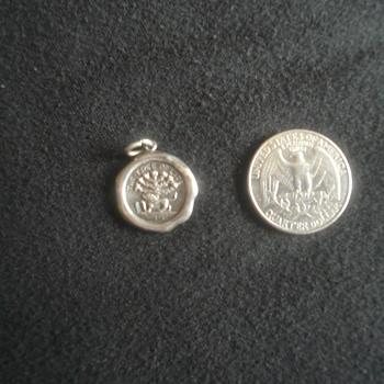 Silver Jewish Charm