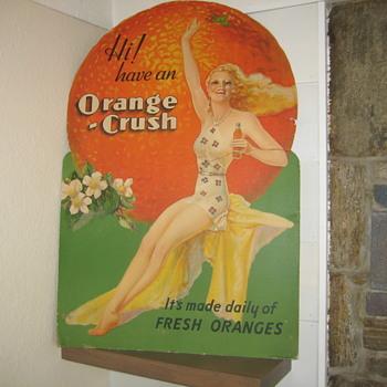 Orange Crush Girl - Advertising