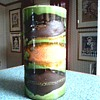 "Royal Haeger ""Earth Wrap"" Lava Glaze Cylinder Vase / Circa 1968-74"