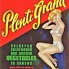 Plenti Grand vegetable crate label