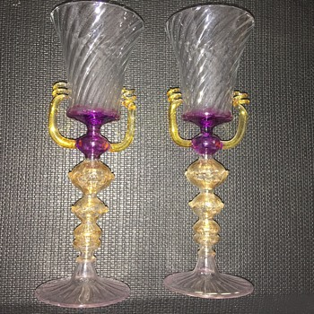 Pretty glass Venetian? - Glassware