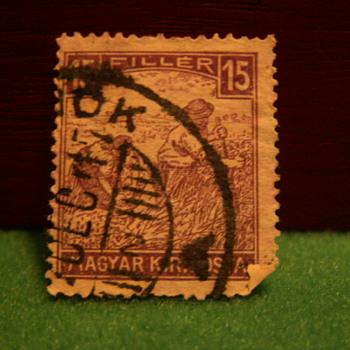 Vintage 15 Filler Stamp