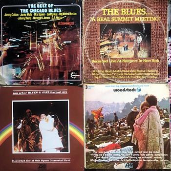 Blues Vinyl (1960's/70's)-3. - Records