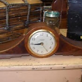 E.Ingraham Company Mantel Clock - Clocks
