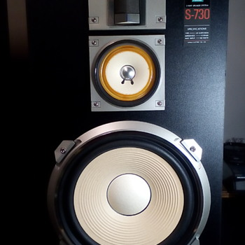 Sansui S- 730 Stereo Speakers - Electronics