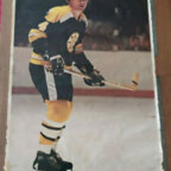 Bobby Orr Rare 1970s Life Size Poster - Would like comments or info on the origin of this poster - Hockey