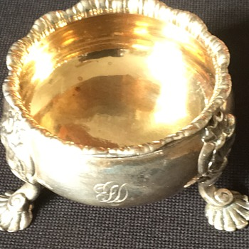Antique salt cellar  - Silver