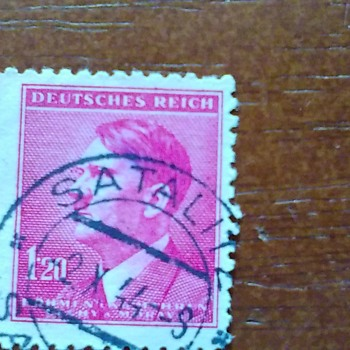 My Lone Adolf Hitler Stamp...