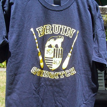 UCLA Bruin Quidditch t-shirt - Mens Clothing