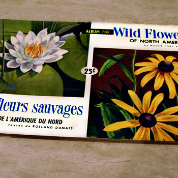 Wild Flowers Of North America, Brooke Bond Canadian Album 1961 - Books