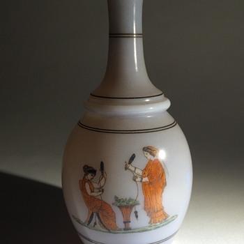 Bohemian Revivalist vase, Baccarat?