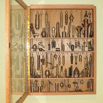 Our first cabinet of whistles - Tools and Hardware