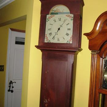 Thirty Hour Connecticut Tall Clock - Clocks
