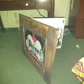 Shinner beer sign  - Signs