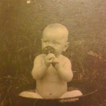 Grandpa Carl, baby, child, and young man - Photographs