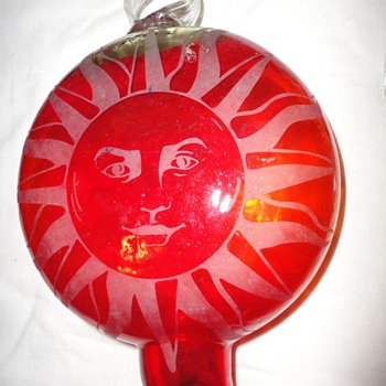 Red Art Glass