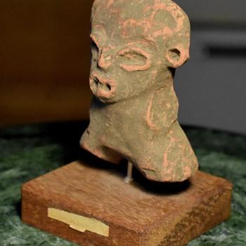 Terracotta Aztec / Mayan Figure from ebay