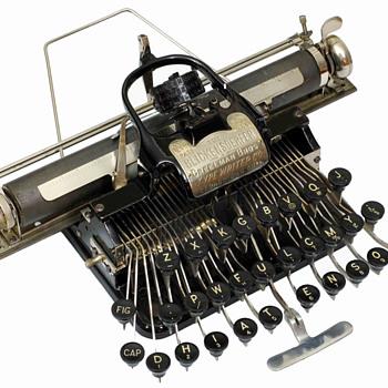 Blickensderfer 5 typewriter - 1893 - Office