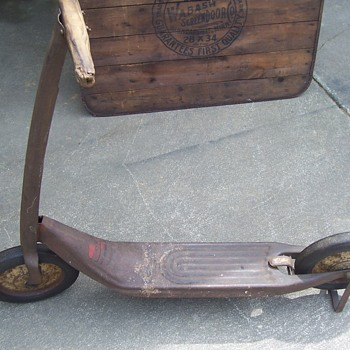 Vintage Firestone Junior Cruiser Scooter - Toys