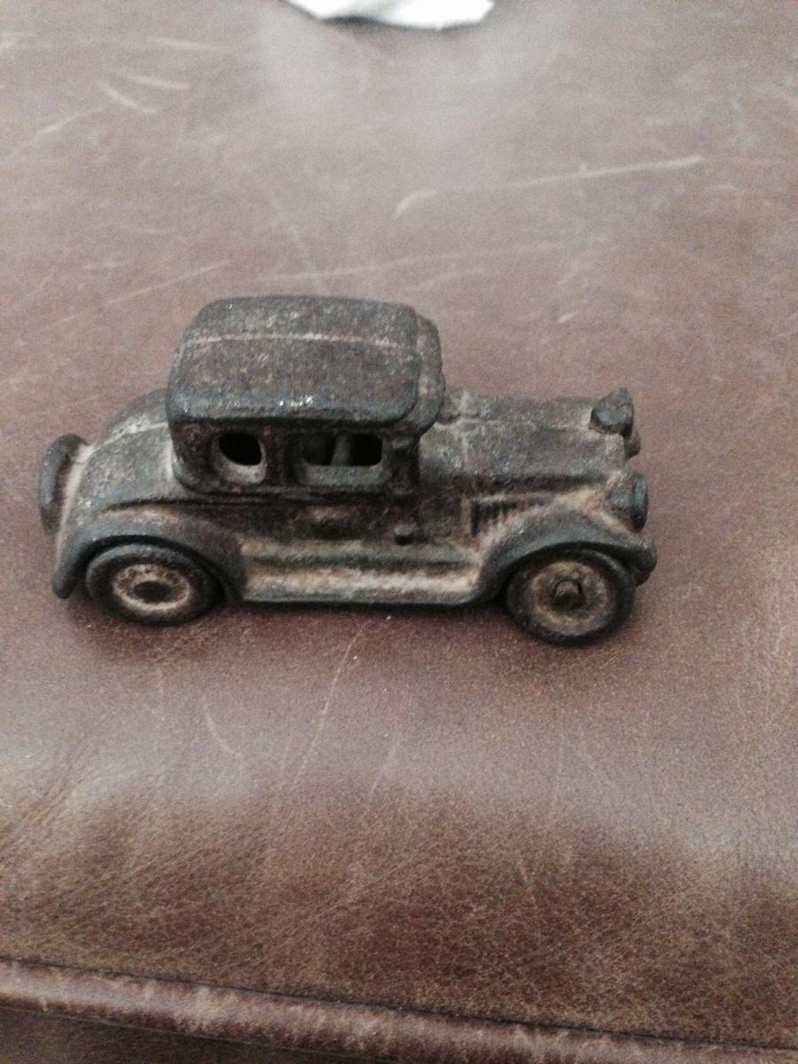 Old metal car   Collectors Weekly