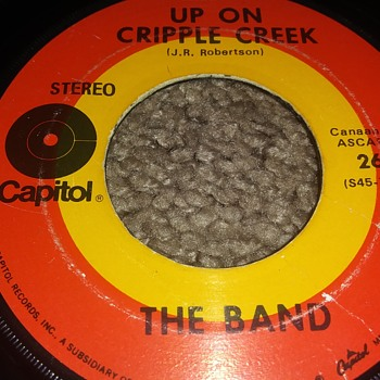 The Band...On 45 RPM Vinyl - Records