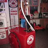 Antique Gas Cart, Red Crown Polarine Theme