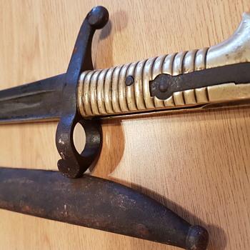 Ww1 1853 sword brass handled