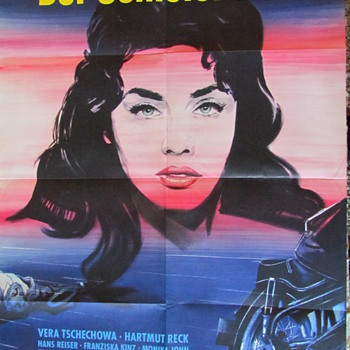 """Der Schleier Fiel..."" Original Movie Poster - Posters and Prints"
