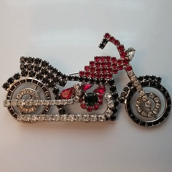 D. Bauer motorcycle  - Costume Jewelry