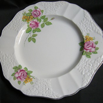"Empire Porcelain "" Rose"" Two Backstamps - 24 KT SPECIAL PAULA  - China and Dinnerware"