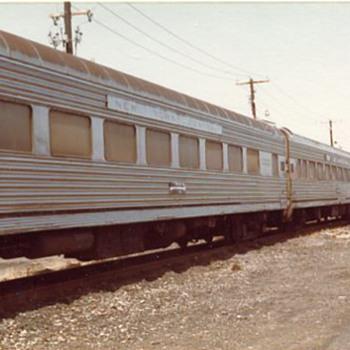 New York Central Coaches - Railroadiana