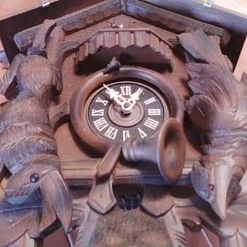 my favorite old cuckoo clock