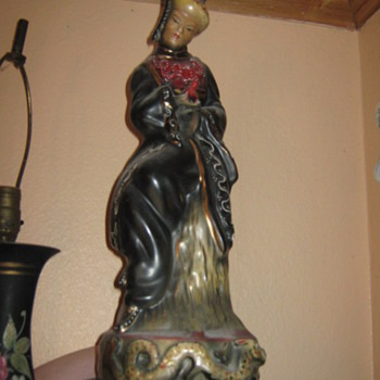 One of the Two Oriental Lamps - Lamps