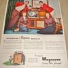 """Magnavox """"The Magnificent Magnavox"""" Magazine Ad"""