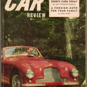 "1954 - ""International Car Review"" - Book - Classic Cars"