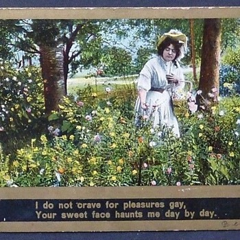 REALLY WEIRD FUNNY CARD--YOU GOTTA SEE & READ IT! 1912 - Postcards
