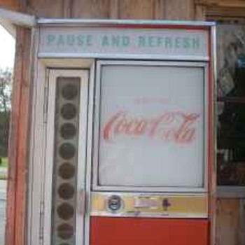 Old Coke machine...What's it worth? - Coca-Cola