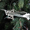 WWI warplane Xmas ornaments