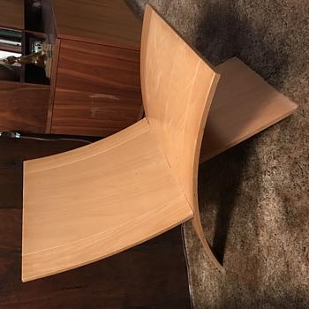 Two piece modular mid century modern chair - Furniture