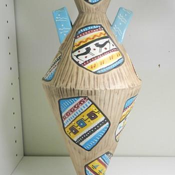 Volpi Deruta Italian Art Pottery Vase - (This one's for you Vetraio!) - Pottery