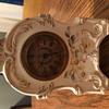 Transferware Vanity Clock