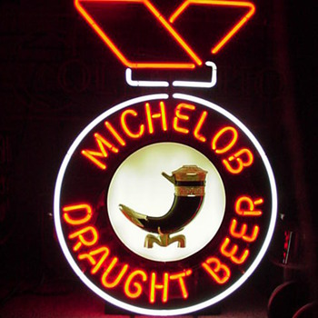 Michelob Ribbon - Signs