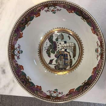 Curious about this punch bowl  - Asian