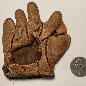D&M Baseball Glove Salesman Sample Midget Line - Baseball