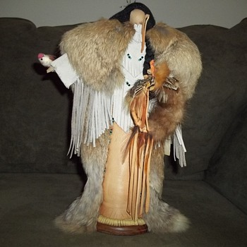 Native American No Face Doll by Jeanenne Lester - Native American