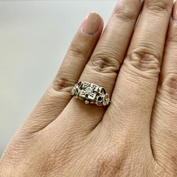 Vintage Handmade Diamond Ring - Fine Jewelry