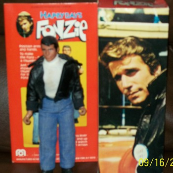 70s Mego Fonzie Action Figure - Toys